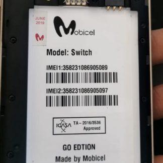 Mobicel Switch Go (8.1) DA/Boot FILE