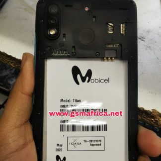 Mobicel Titan FIRMWARE MT6580 ANDROID 10