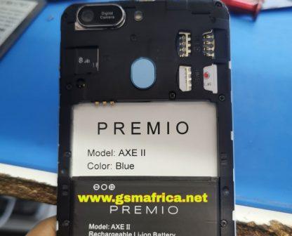 Premio AXE II FIRMWARE SPD P7731E ANDROID 10