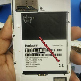 Karbonn Titanium S202 Firmware pac 4.4.2 sp7731gea_hd