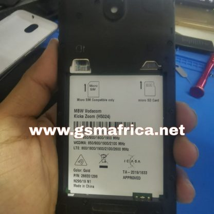 Mobiwire Kicka Zoom Firmware MT6739 android 9