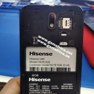 Hisense U40 (HLTE103E-32-H5) Firmware SPD