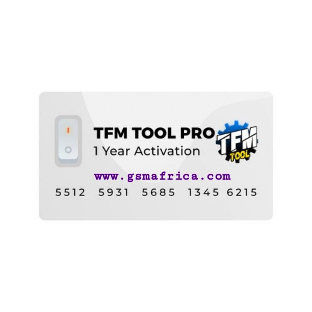 TFM Tool Pro 1 Year Activation