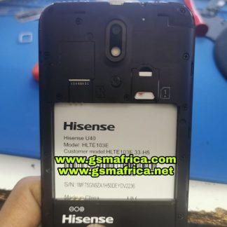 Hisense U40 (HLTE103E-33-H5) Firmware SPD