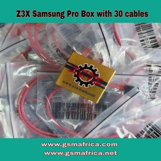 Z3x Samsung Pro Box With 30 Cables