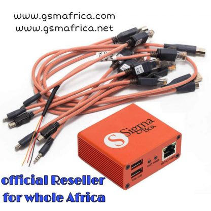Sigma Box with Cable Set + Activation pack 1.2.3.4.5
