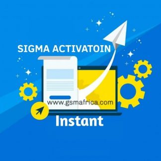 Sigma Pack 1 Activation instant