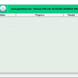 Hisense H40 Lite (HLTE230E) Firmware SPD pac