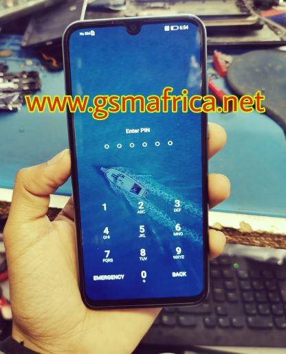 Huawei P Smart S (AQM-LX1-C185) Password Fingerprint Not Set Solutions